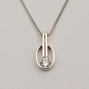 Diamond Solitaire 101 Pendant