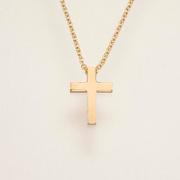14kt Yellow Gold Cross on 20 inch Chain